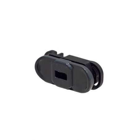 Clip de fixation easy pro clip gris anthracite