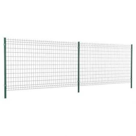 Travées de clôture panneau rigide Easy Home - Hauteur 1m23 - vert