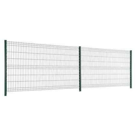 Travées de clôture avec panneaux rigide Easy PRO 5 - Hauteur 1m53 - gris anthratcite
