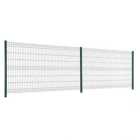 Travées de clôture avec panneaux rigide Easy PRO 5 - Hauteur 1m53 - vert