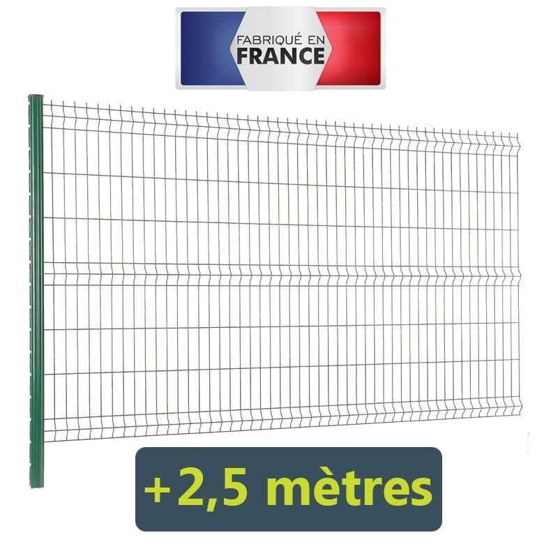 Complément de kit clôture Easy PRO 5 +2,5 mètres