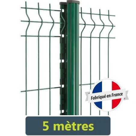 Kit clôture panneau rigide Easy PRO 5 - 5 mètres