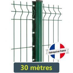 Kit clôture panneau rigide Easy PRO 5 - 30 mètres
