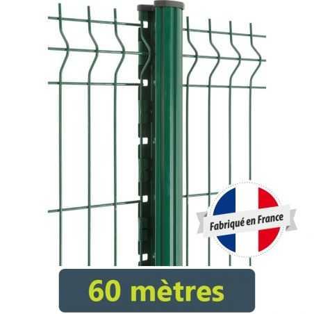 Kit clôture panneau rigide Easy PRO 5 - 60 mètres