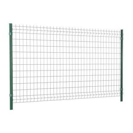 Travée de clôture panneau rigide Easy Home - Hauteur 1m23 - vert