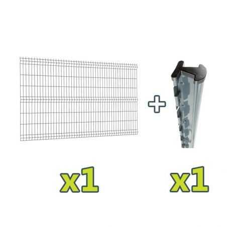 Contenu du complément de kit clôture Easy PRO 5 +2,5 mètres