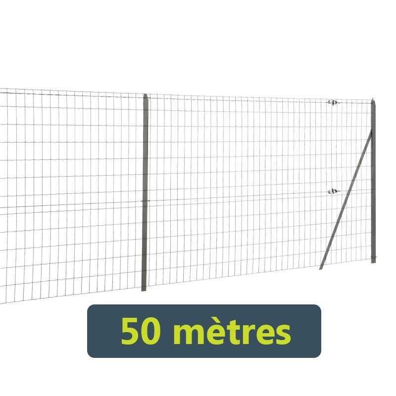 Kit grillage soudé Easy Garden - 50 mètres