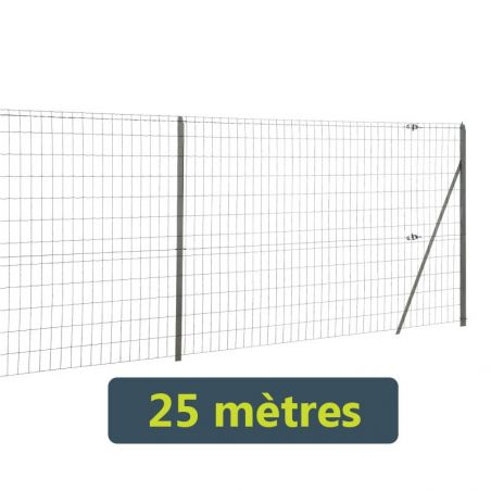 Kit grillage soudé Easy Garden - 25 mètres