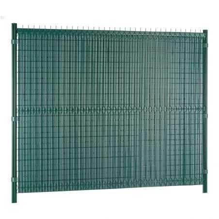 Canisse PVC Easy Elegance posée extérieur propriété - vert