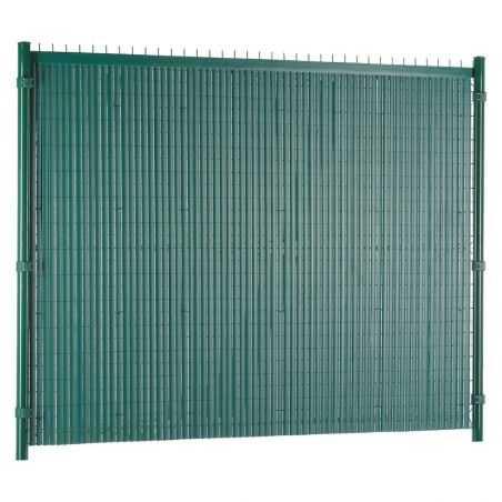 Canisse PVC Easy Elegance posée intérieur propriété - vert