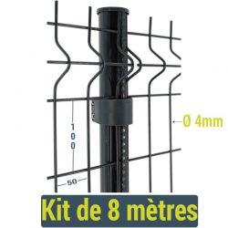 Kit clôture Easy Home - 8 mètres
