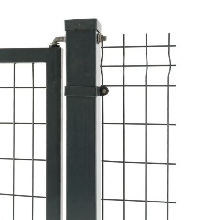Collier 80x80 départ Clôture d'un portail à poteaux carrés