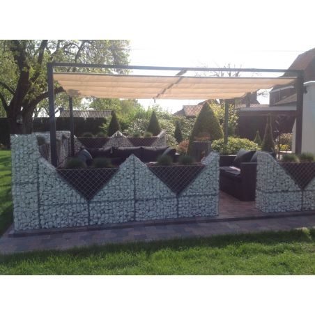 (Kit) Gabion Triangulaire - 60 x 30 cm