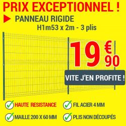 Panneau grillage rigide Easy Light