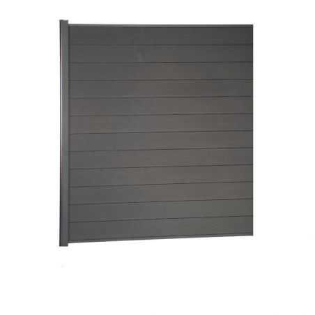 Kit de clôture lame composite +1 mètre 80