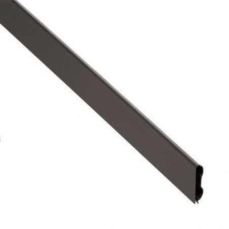 Lisse occultation PVC - GRIS