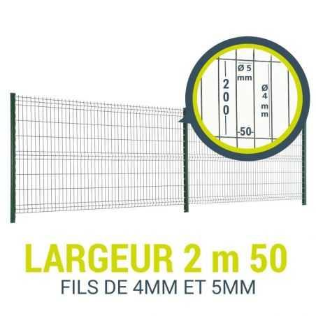 Pack de 10m de clôture