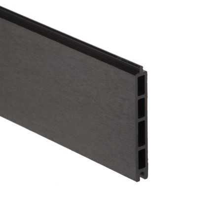 Lame composite gris anthracite pour clôture panneau composite