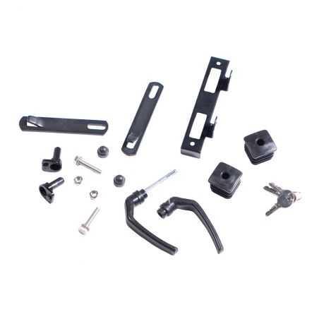Accessoires pour portillon fer forgé noir