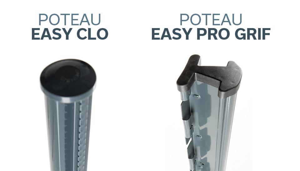 Comparaison entre Easy Clo et Easy Pro Grif