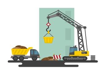 Faites vous livrer votre commande Easycloture sur votre chantier